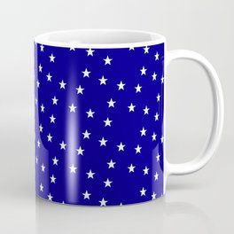 stars 113- blue Coffee Mug