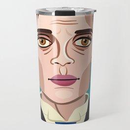 Buster Keaton Travel Mug