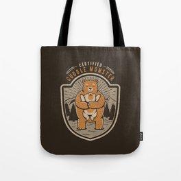 Certified Cuddle Monster Tote Bag