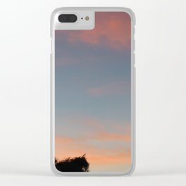 Starstruck Forest Clear iPhone Case