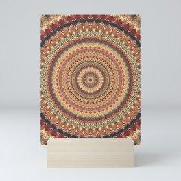 Earth Mandala 3 Mini Art Print
