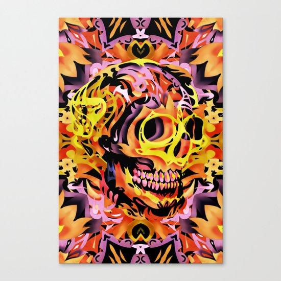 Skull V Canvas Print