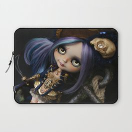 LADY BUCCANEER PIRATE OOAK BLYTHE ART DOLL Laptop Sleeve