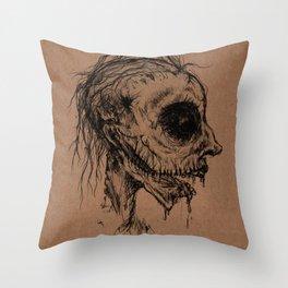 Dead Zombie Throw Pillow