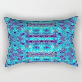 Batik Inspiration Blues Rectangular Pillow