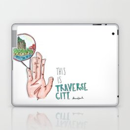 This is Traverse City Laptop & iPad Skin