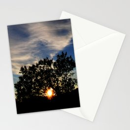 Just Enough Light for the Next Step in My Journey Stationery Cards