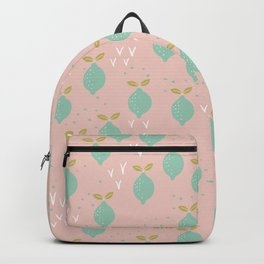 When life gives you lemons you make a pretty print Backpack