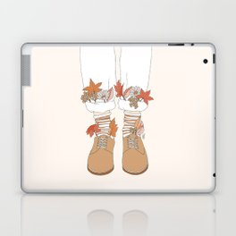 Autumn Walks Laptop & iPad Skin