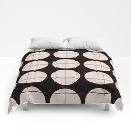 circle - grid Comforters