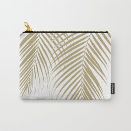 Summer Palm Leaves #1 #tropical #decor #art #society6 Carry-All Pouch
