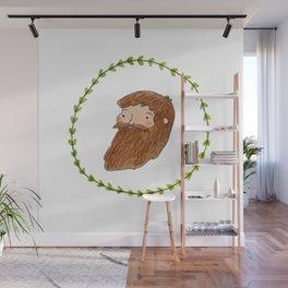 Bearded Bloke Wall Mural