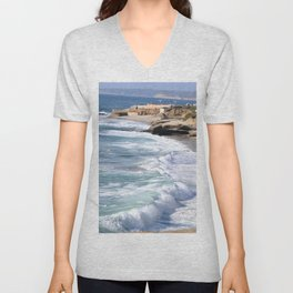 BOYS ON A ROCK 2 Unisex V-Neck