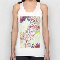 maps Tank Tops featuring Maps by MonsterBrown