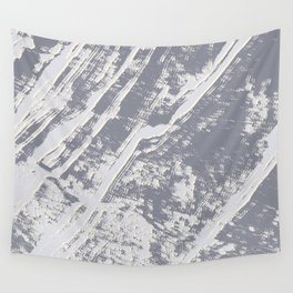 shades of gray marble effect Wall Tapestry