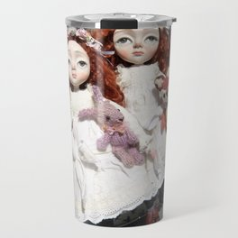Freya and Faye, Curious Creatures Travel Mug