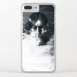 Lonely are those who wait Clear iPhone Case