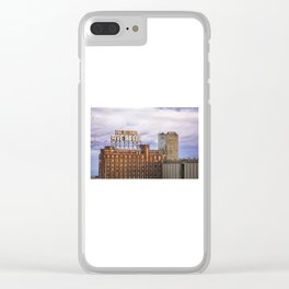 Montreal Farine Five Roses, Montreal Iconic, Urban photo, Architecture, modern Clear iPhone Case