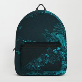 Future City Blue Backpack