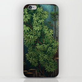 Rain room iPhone Skin
