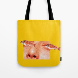 Two Fishes Tote Bag