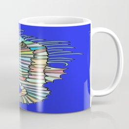 Metallic Seahorse Coffee Mug