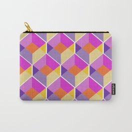 Geometric Love Carry-All Pouch
