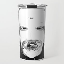 asc 424 - Le masque de la Toussaint (Trick or treat!) Travel Mug