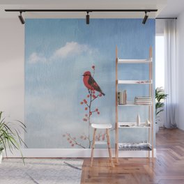 Holly Berry Heaven Wall Mural