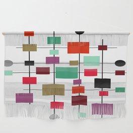 Mid-Century Modern Art 1.3.4 Wall Hanging