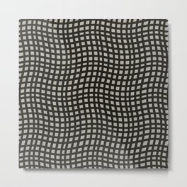 Curvilinear Metal Print