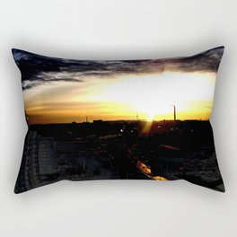 Fire in the sky(1) Rectangular Pillow