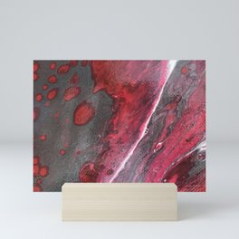 Red and Silver Mini Art Print