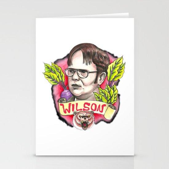 rainn wilson Stationery Cards