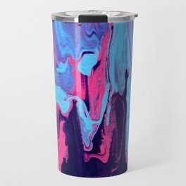 Paint Pouring 25 Travel Mug
