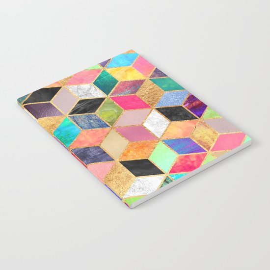 Colorful Cubes Notebook