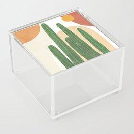 Abstract Cactus I Acrylic Box