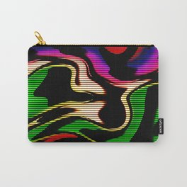 Hot abstraction with lines 1 Carry-All Pouch