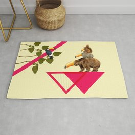 everybody would love to be a toucan  Rug