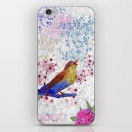 Chinoiserie pink iPhone Skin