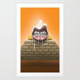 Hungry empire Art Print