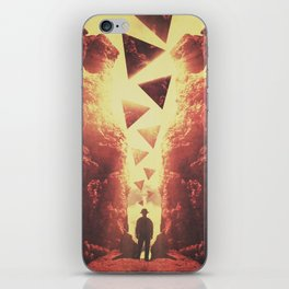 The Traveler iPhone Skin