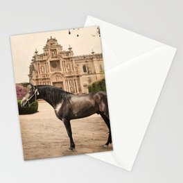 from andalusian breed begining. Spain Stationery Cards