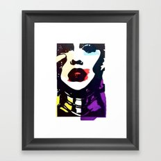 Aguilera 1.0 Framed Art Print