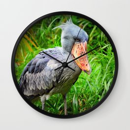 Shoebill Balaeniceps Rex Wall Clock