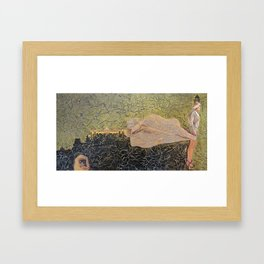 Babiana stricta Framed Art Print