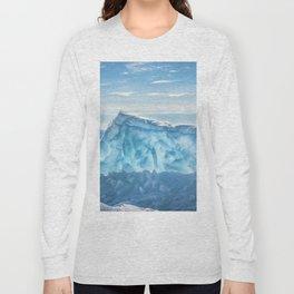 Pressure ridge of lake Baikal Long Sleeve T-shirt