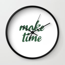 Make Time Wall Clock