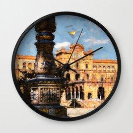 Plaza de Espana, Seville Wall Clock