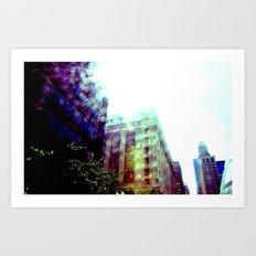 flare Art Print
